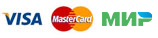 Карты оплаты Visa, MasterCart